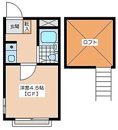 メゾン・ド・芦花公園[206_号室]の間取り
