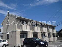 香川県高松市西春日町の賃貸アパートの外観