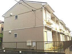 千葉県市川市大野町の賃貸アパートの外観