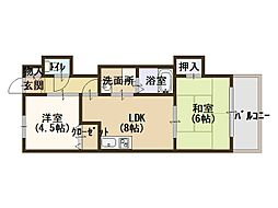 大阪府大阪市北区神山町の賃貸マンションの外観