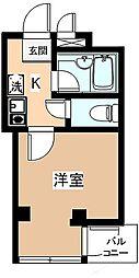 東京都練馬区高松2丁目の賃貸マンションの間取り