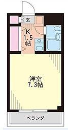 ランドフォレスト志木[110号室]の間取り