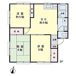 ハイム玉屋B棟[1階]の間取り