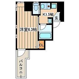 エルドシック横濱[5階]の間取り