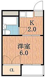 マンションいずみ[2階]の間取り