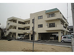 愛媛県松山市古川西3丁目の賃貸マンションの外観