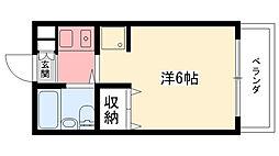 エクセレント武庫川[305号室]の間取り