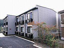 東京都八王子市寺田町の賃貸アパートの外観