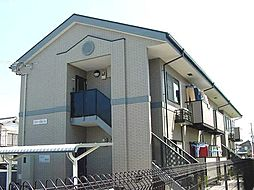 京都府城陽市平川浜道裏の賃貸アパートの外観