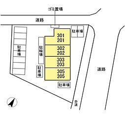 DL D-ROOM南林間[新築・ホームセキュリティ][203号室]の間取り