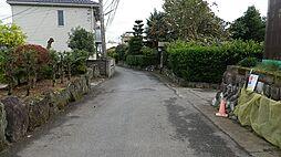 前面道路の入口