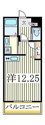 オアゾ桜台II[2階]の間取り