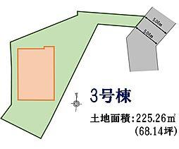 3号棟 地形図
