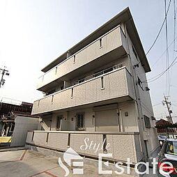 愛知県名古屋市中村区大秋町3丁目の賃貸アパートの外観