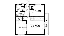 夙川大谷ハウス[302号室]の間取り
