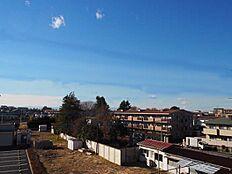 バルコニ-からの眺望