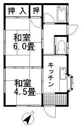 [一戸建] 埼玉県桶川市西2丁目 の賃貸【/】の間取り