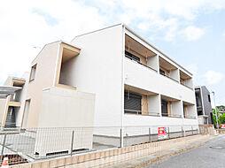 埼玉県坂戸市伊豆の山町の賃貸アパートの外観
