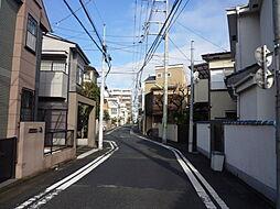 現地前道路