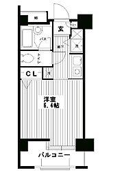 Terra湘南台[710号室]の間取り