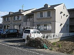 岡山県倉敷市沖新町丁目なしの賃貸アパートの外観