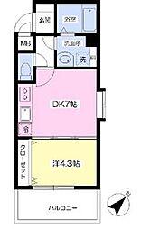 スカイシャトレ[6階]の間取り