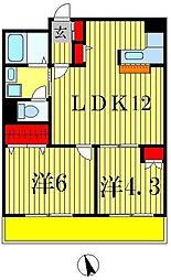 M・H2ビル[5階]の間取り