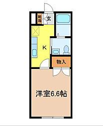 ピュア本郷[3階]の間取り