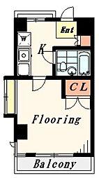 ホワイトハウス江古田[4階]の間取り