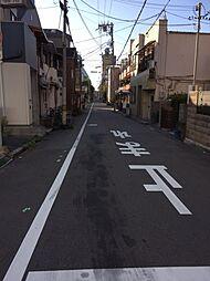 北側 前面道路