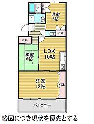 愛知県名古屋市千種区本山町2丁目の賃貸マンションの間取り