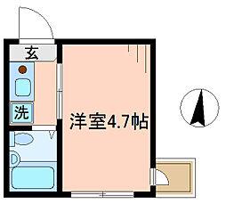 ベルエステート竹ノ塚A[2階]の外観