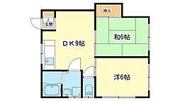甘地駅 4.0万円