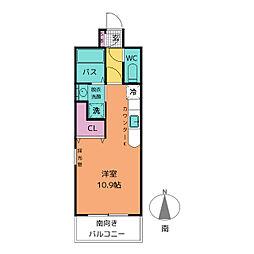 コート新栄[7階]の間取り