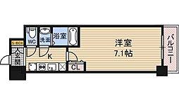 大阪府大阪市淀川区十三本町3丁目の賃貸マンションの間取り