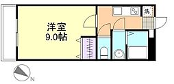 エポックハシマI[1階]の間取り