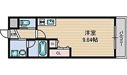 プレジオ新大阪[9階]の間取り