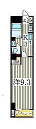 カネキン第二ビル[4階]の間取り