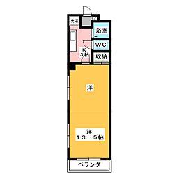 モンレーブ葵東I[2階]の間取り