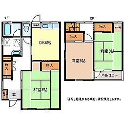 [タウンハウス] 長野県長野市稲田1丁目 の賃貸【/】の間取り