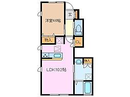 BrancasaE棟[1階]の間取り