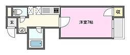 クレシア日本橋[5階]の間取り