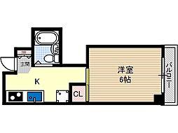 メゾンドバランシヤ2[2階]の間取り