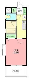 セントラルヒルズ五番館[3階]の間取り
