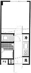 エコーグレイス[2階]の間取り