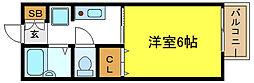 サニーコート加美西1[1階]の間取り