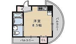 ルクレール鶴ヶ丘[904号室]の間取り