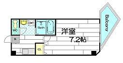 プレミアムAWAZA(旧ドエル立売堀)[9階]の間取り