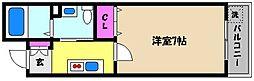 深江18[2階]の間取り