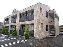 愛媛県東温市南方の賃貸アパートの外観
